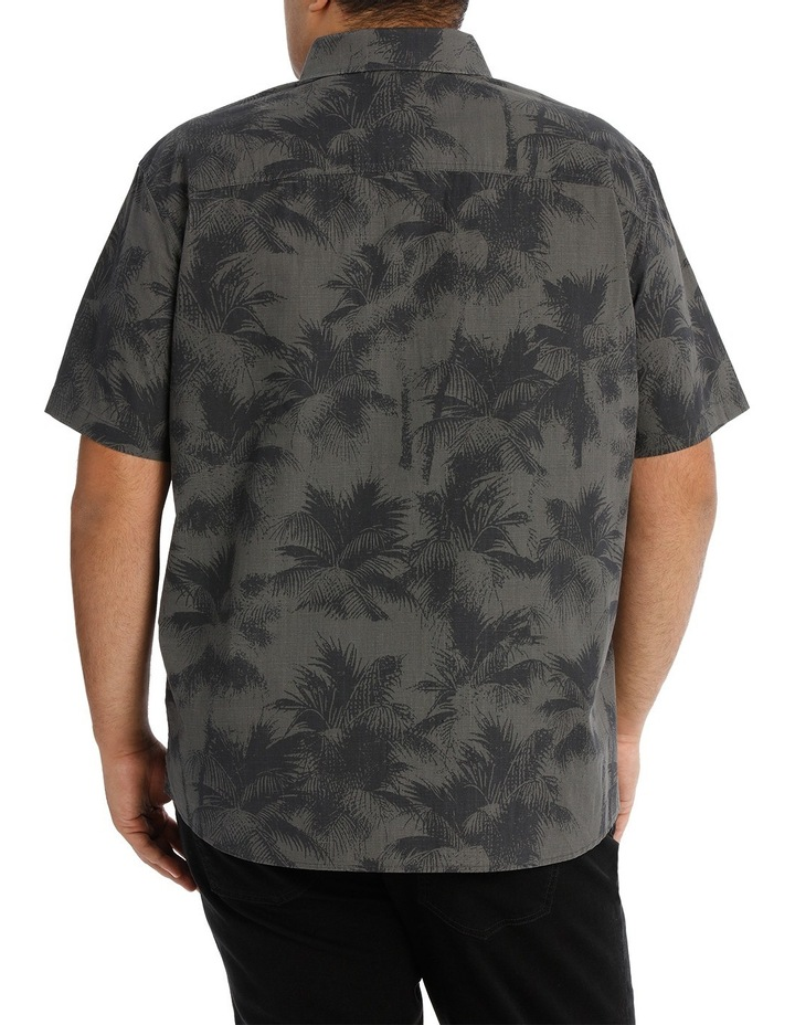 Short Sleeve Fern Print Shirt image 3