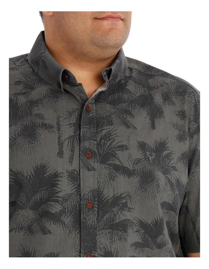 Short Sleeve Fern Print Shirt image 4