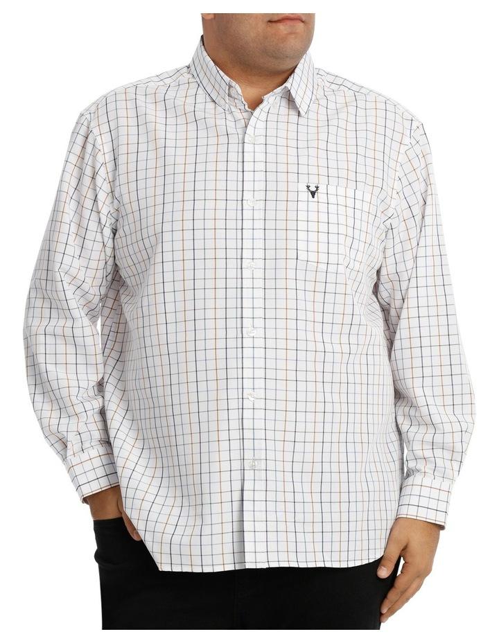 Long Sleeve Whiteout Check Shirt image 1