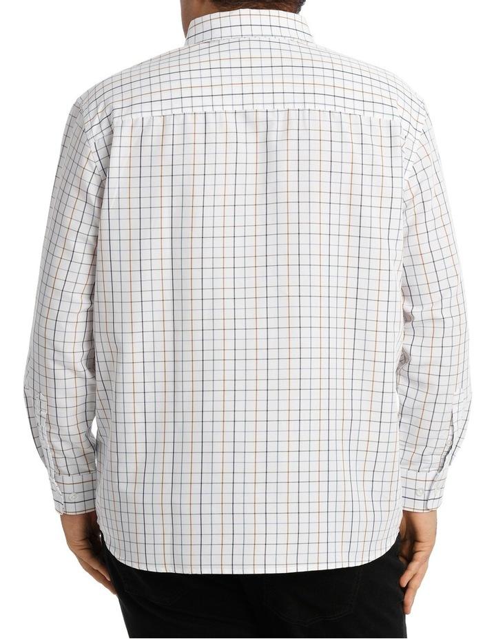 Long Sleeve Whiteout Check Shirt image 3