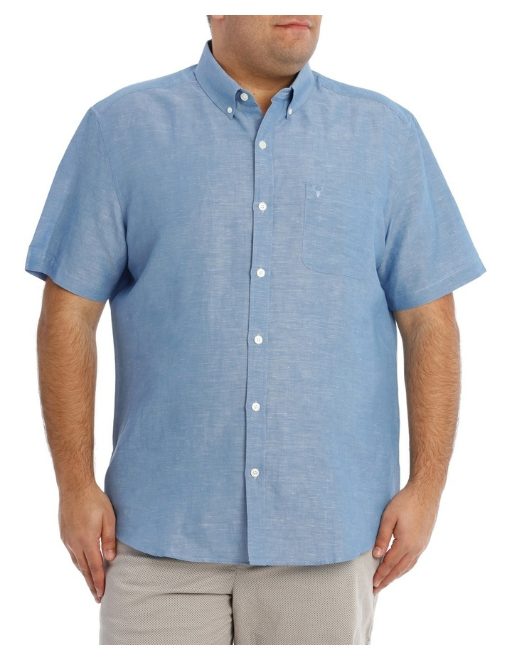 Ottway Textured Linen Shirt image 1