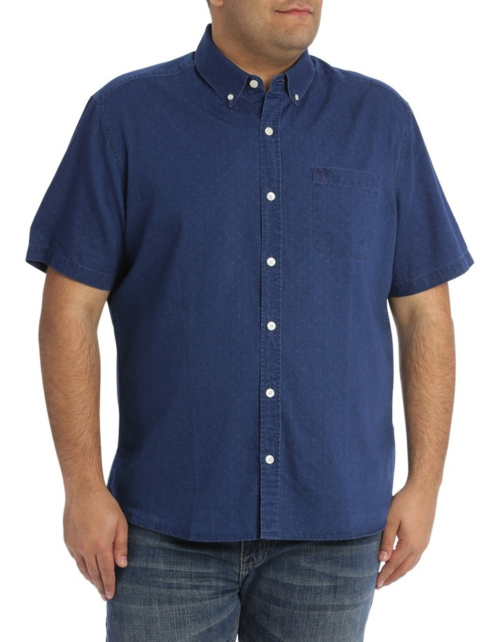 Frederick Printed Denim Shirt image 1