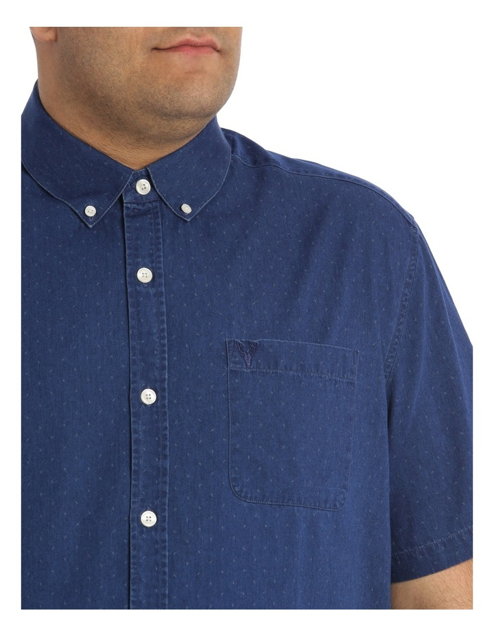 Frederick Printed Denim Shirt image 4