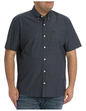 6a6b2920ac JACK STONE 3XL-7XL Harry Dobby Print Shirt
