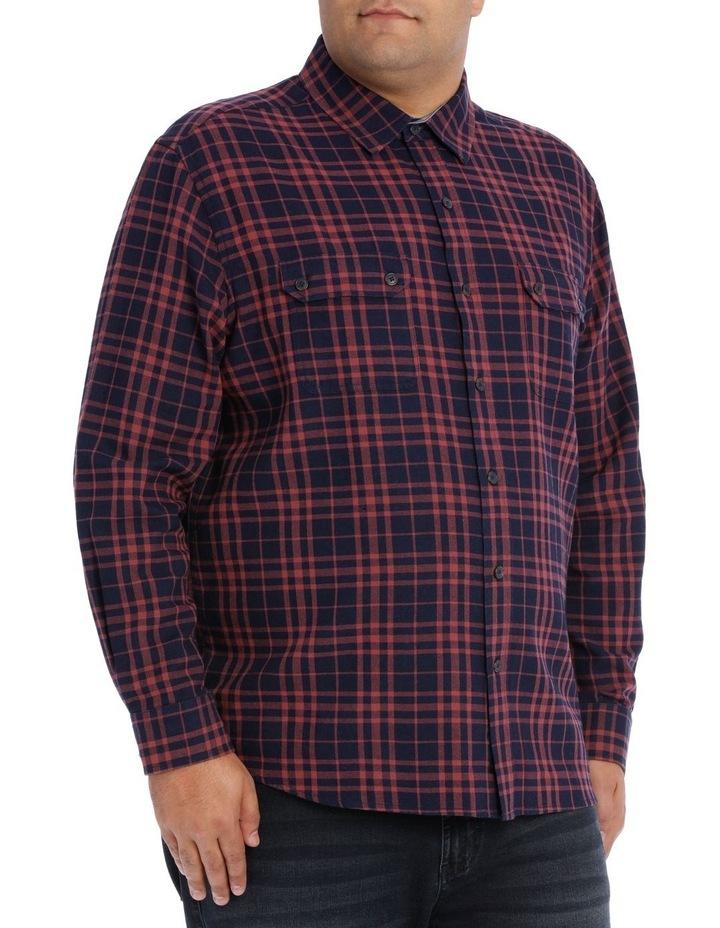 Coral Sea Check Long Sleeve Shirt image 2