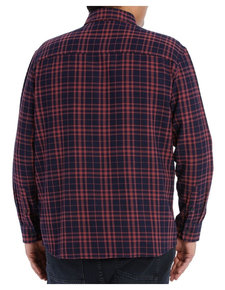 Coral Sea Check Long Sleeve Shirt image 3