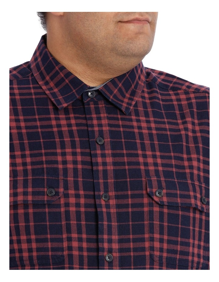 Coral Sea Check Long Sleeve Shirt image 4