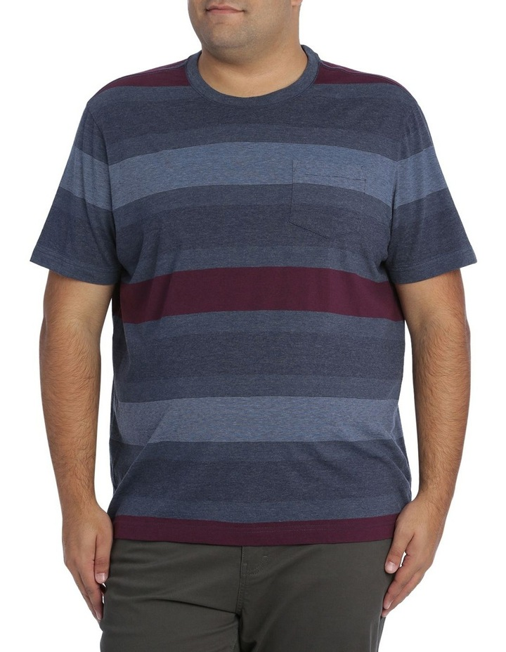 Short Sleeve Frost Stripe Tee image 1