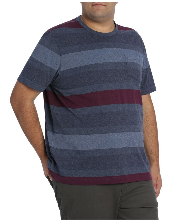 Short Sleeve Frost Stripe Tee image 2