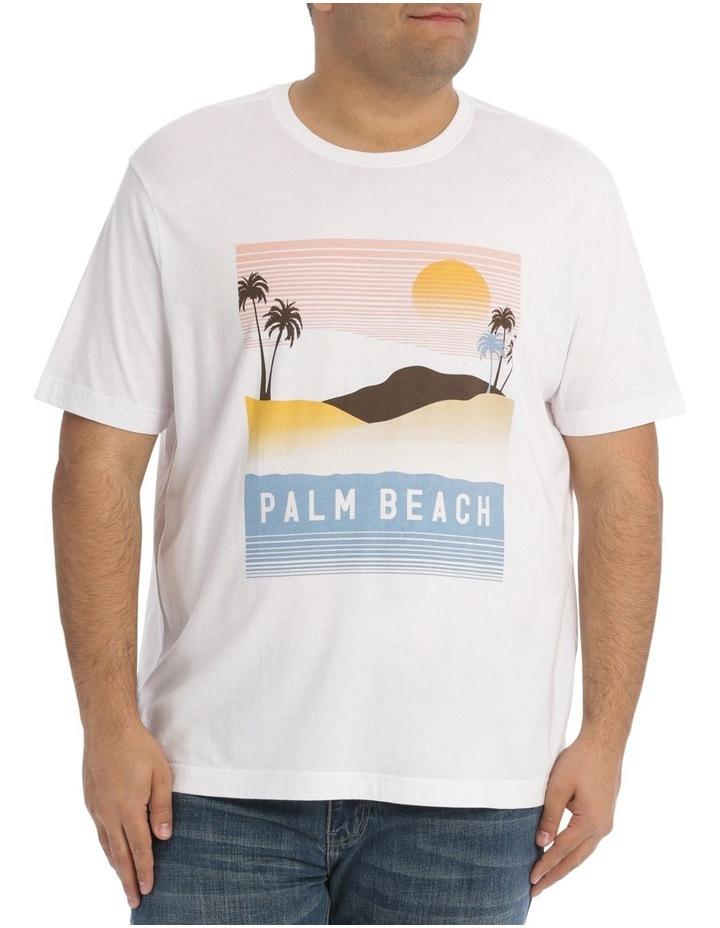 Palm Beach Print Tee image 1