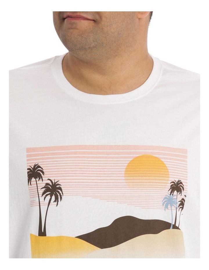 Palm Beach Print Tee image 4
