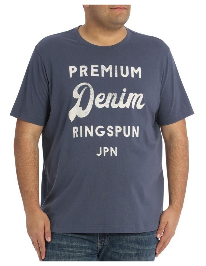 Premium Denim Print Tee image 1