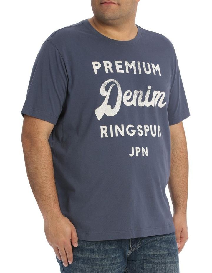 Premium Denim Print Tee image 2
