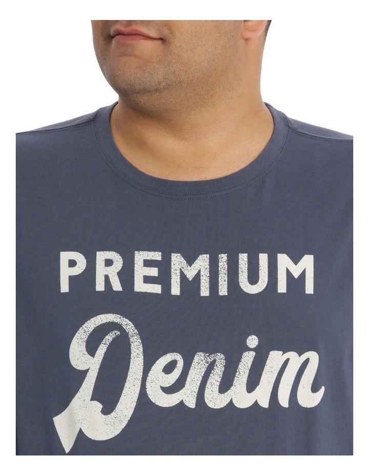Premium Denim Print Tee image 4