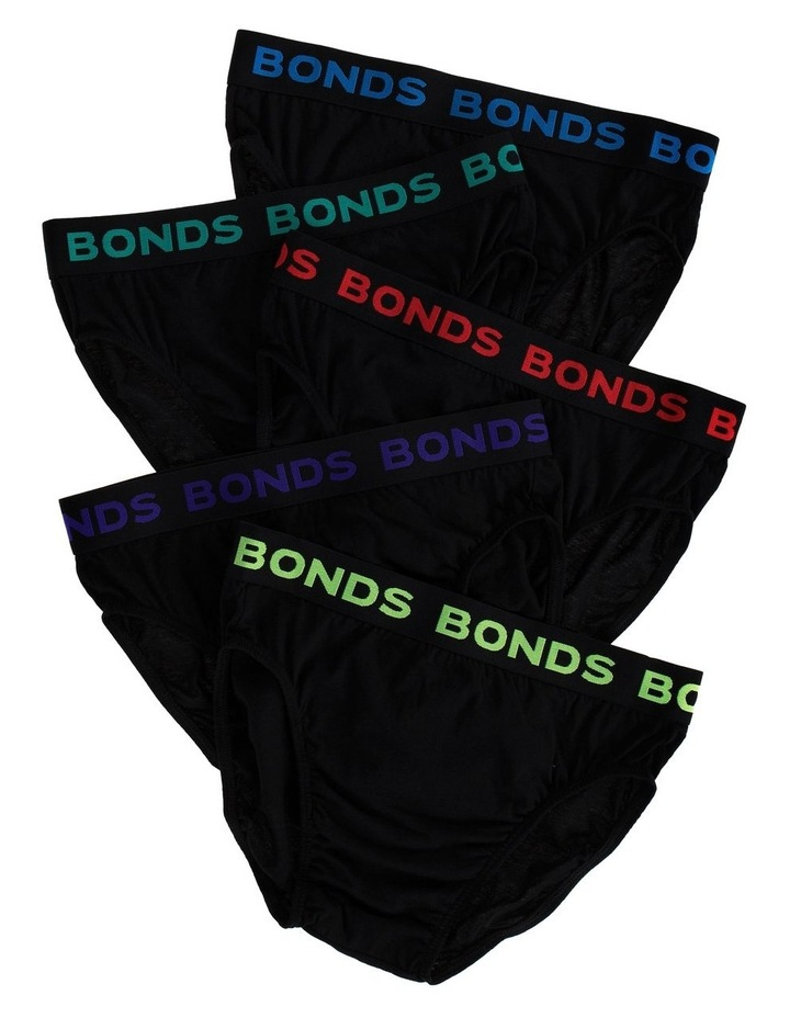 5 Pack Hipster Brief image 1