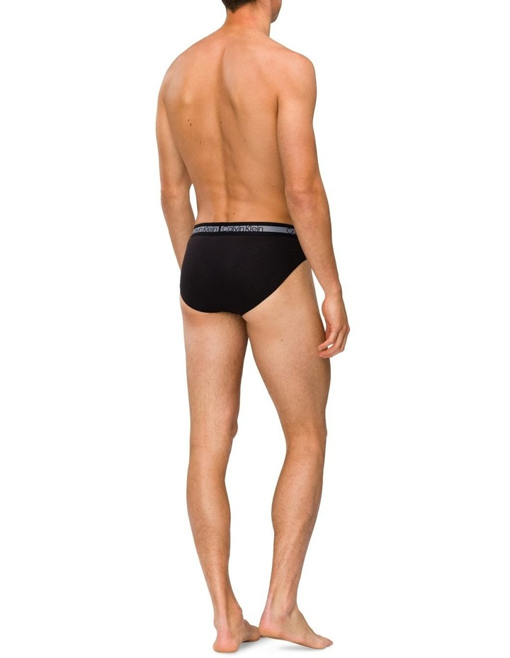 Cooling Cotton Stretch 3 Pack Briefs image 4
