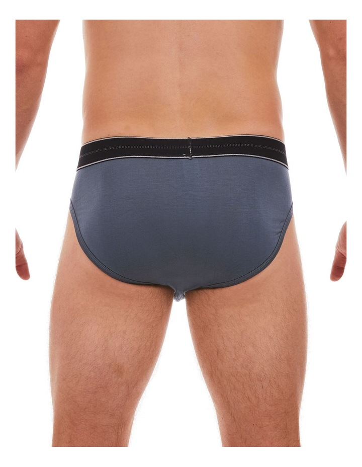 3 Pack Bamboo Plain Brief image 4