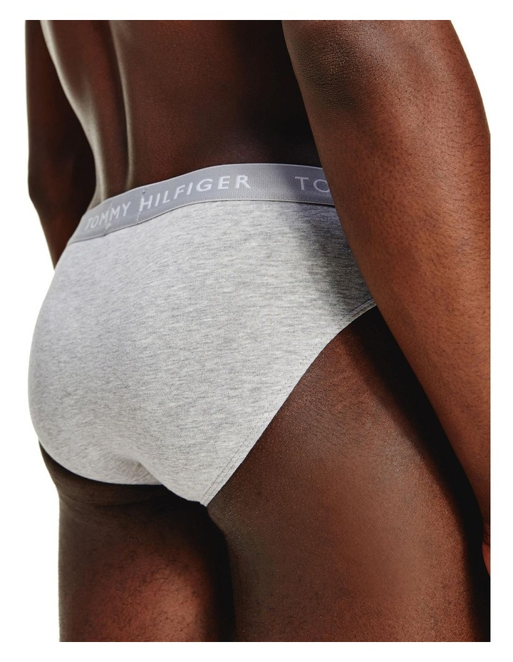 3 Pack Recycled Essentials Cotton Briefs image 5