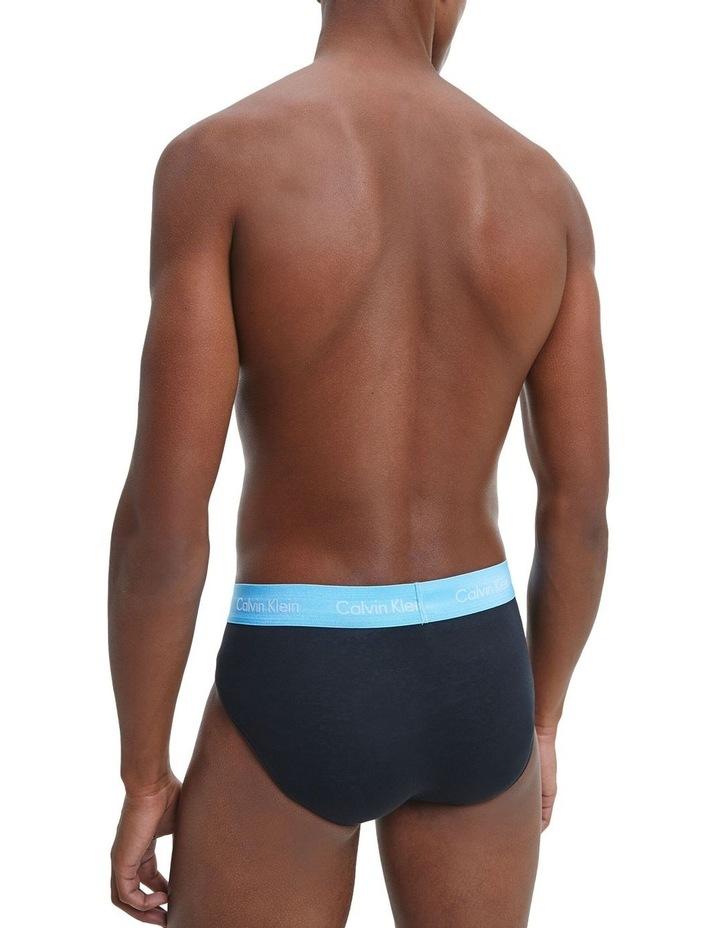 3 Pack Cotton Stretch Hip Briefs image 5