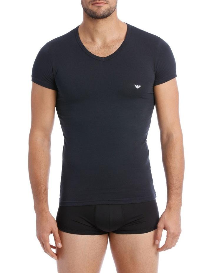Emporio Armani 2 Pack Cotton Stretch Tshirt image 1