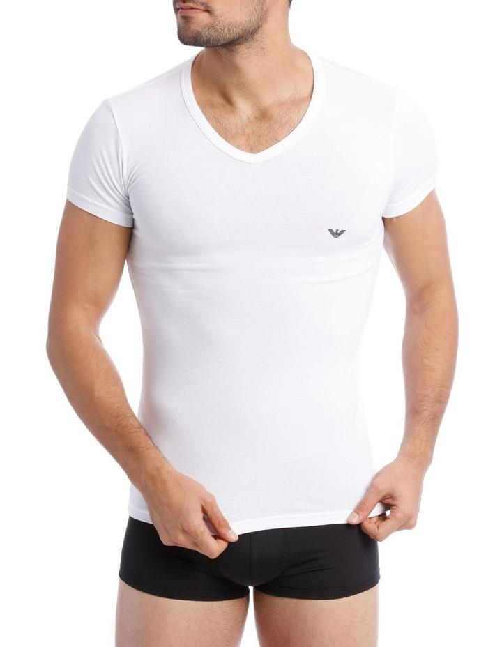 Emporio Armani 2 Pack Cotton Stretch Tshirt image 2