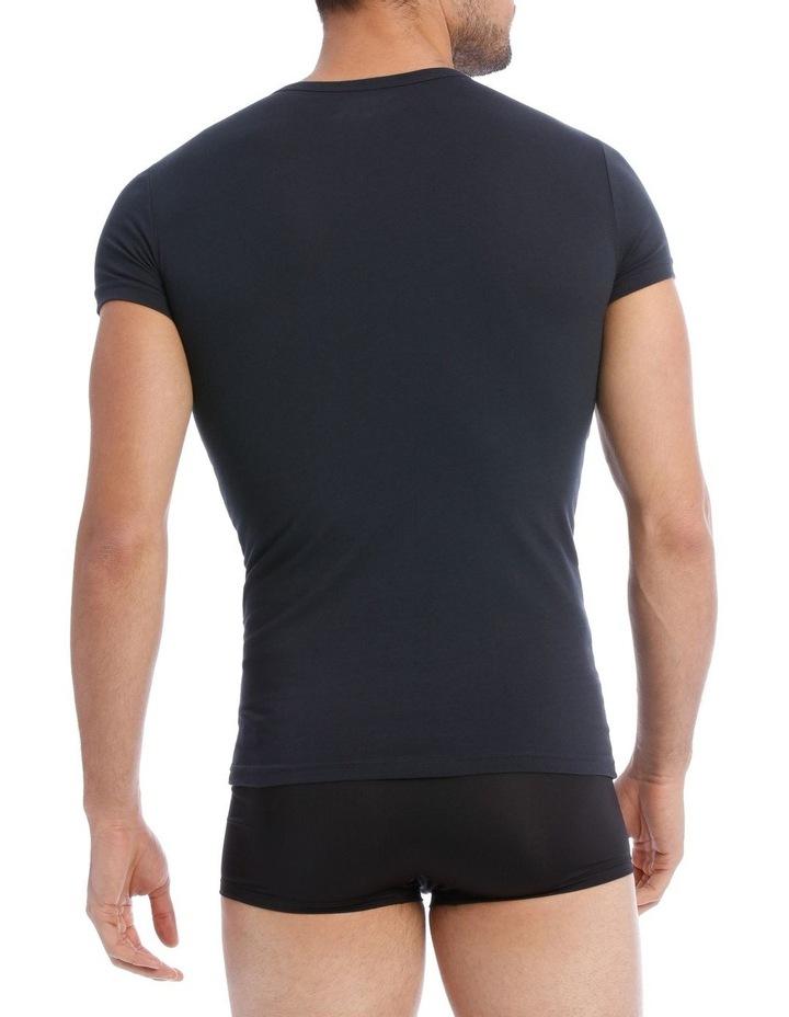 Emporio Armani 2 Pack Cotton Stretch Tshirt image 3