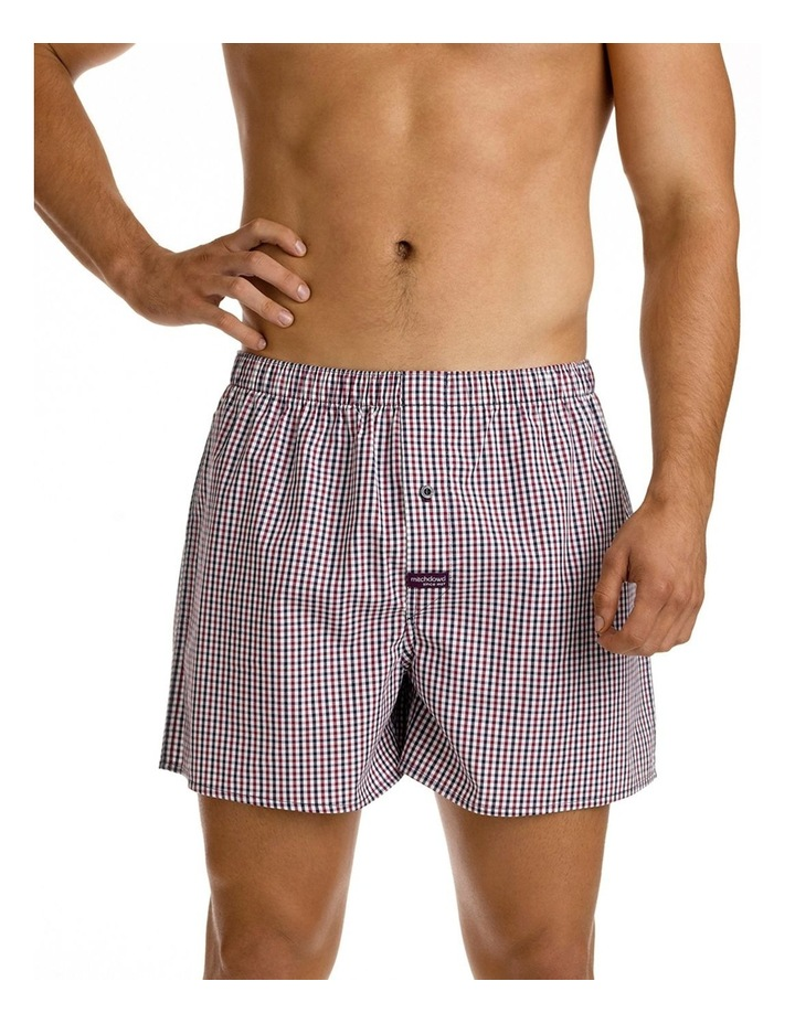 Mitch Dowd Smithson Yarn Dyed Woven Boxer image 1