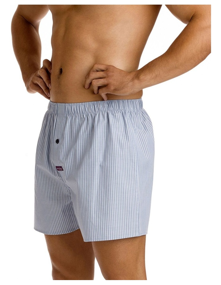 Mitch Dowd Mini Pin Stripe Yarn Dyed Woven Boxer image 2