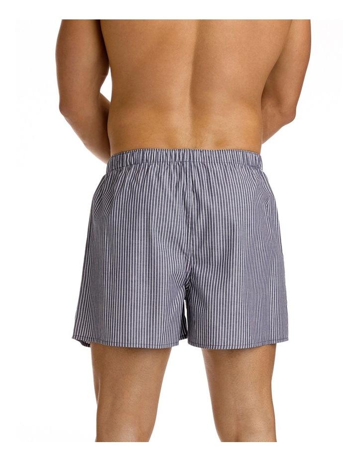 Mitch Dowd Mini Pin Stripe Yarn Dyed Woven Boxer image 3