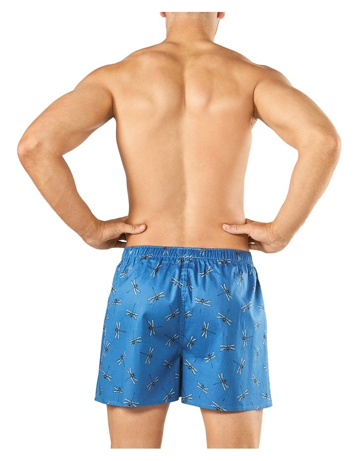 Comfort Dragonfly Parade Soft Wash Printed Boxer Short image 3