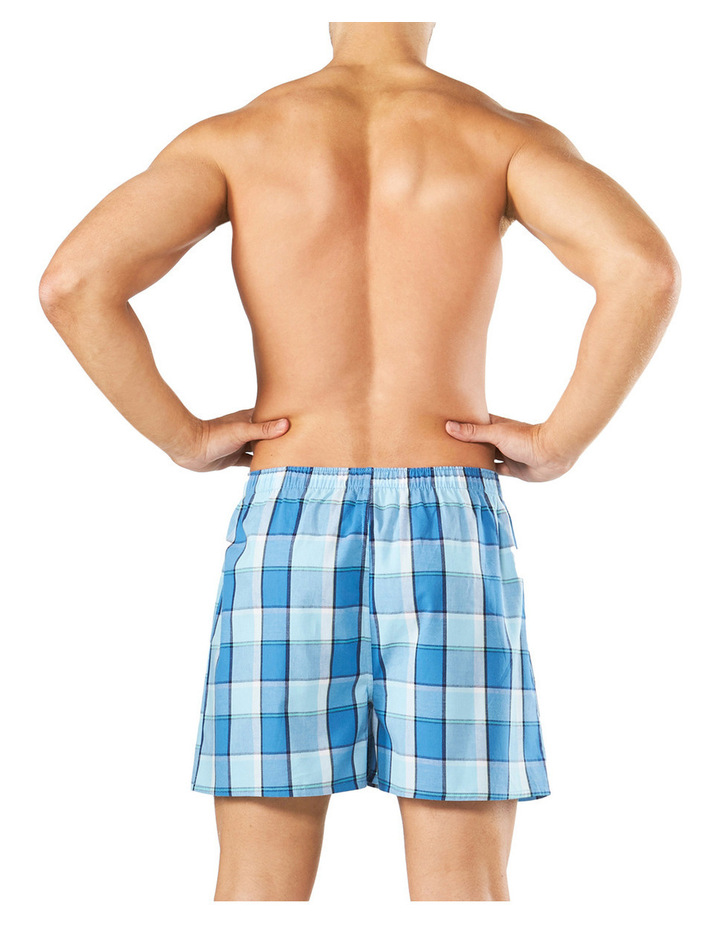 Classic Gorden Check Yarn Dyed Boxer Short image 3