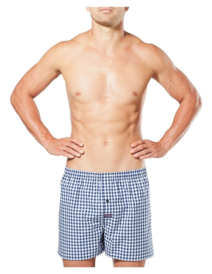 Men's Check Yarn Dyed Woven Boxer image 1
