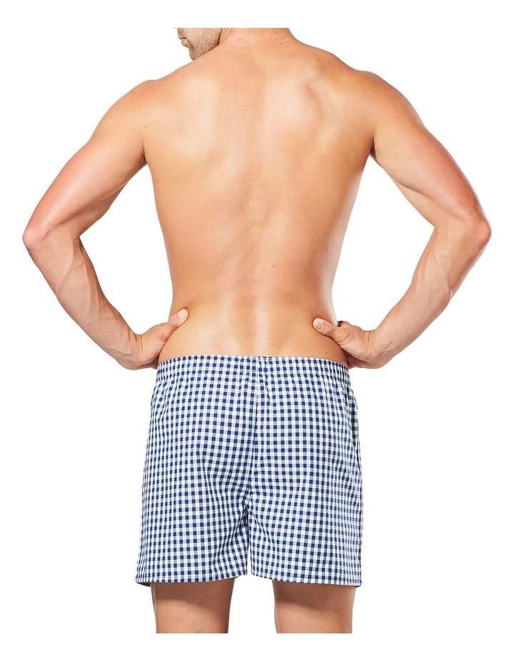Men's Check Yarn Dyed Woven Boxer image 3