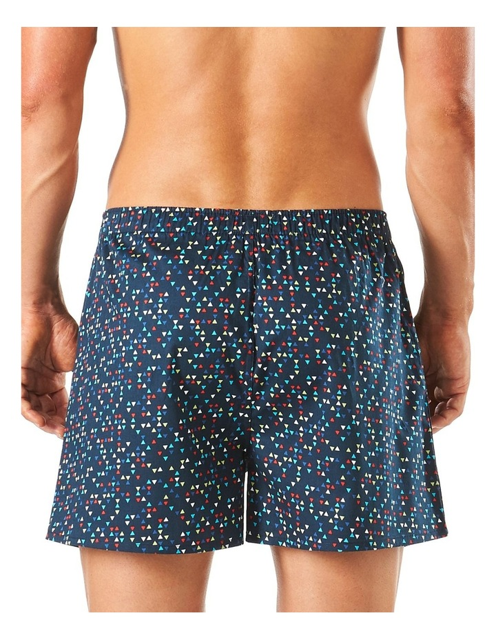 Geo Triangles Soft Wash Printed Boxer Short image 3
