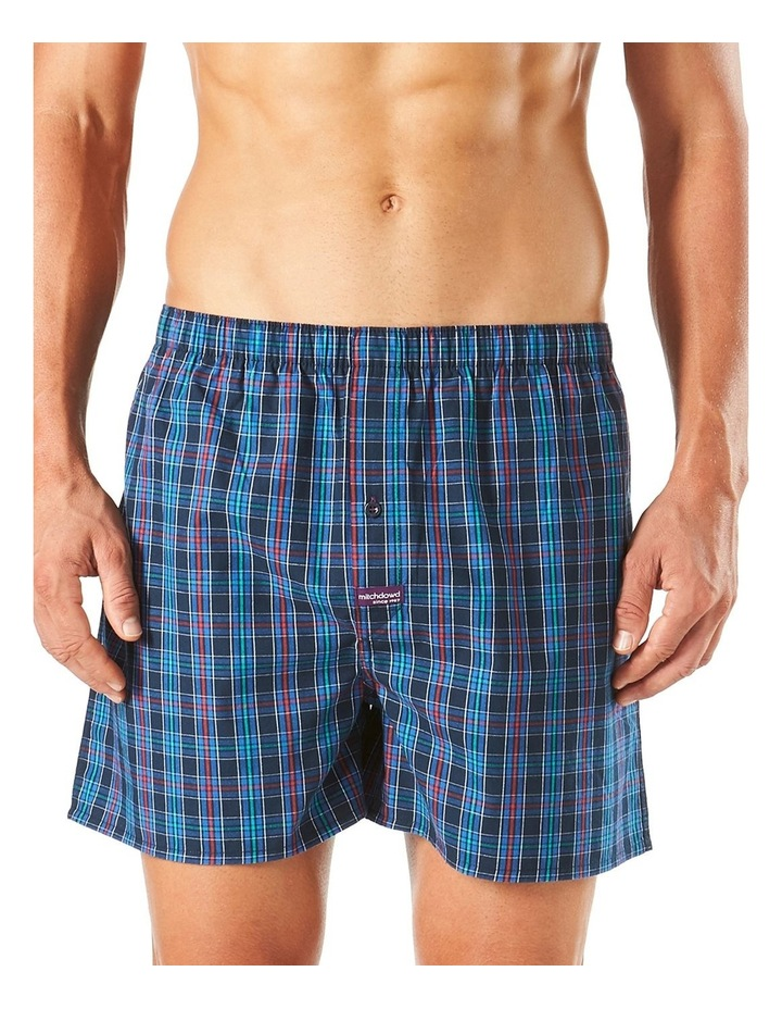 Classic Rowland Check Yarn Dyed Boxer Short image 1