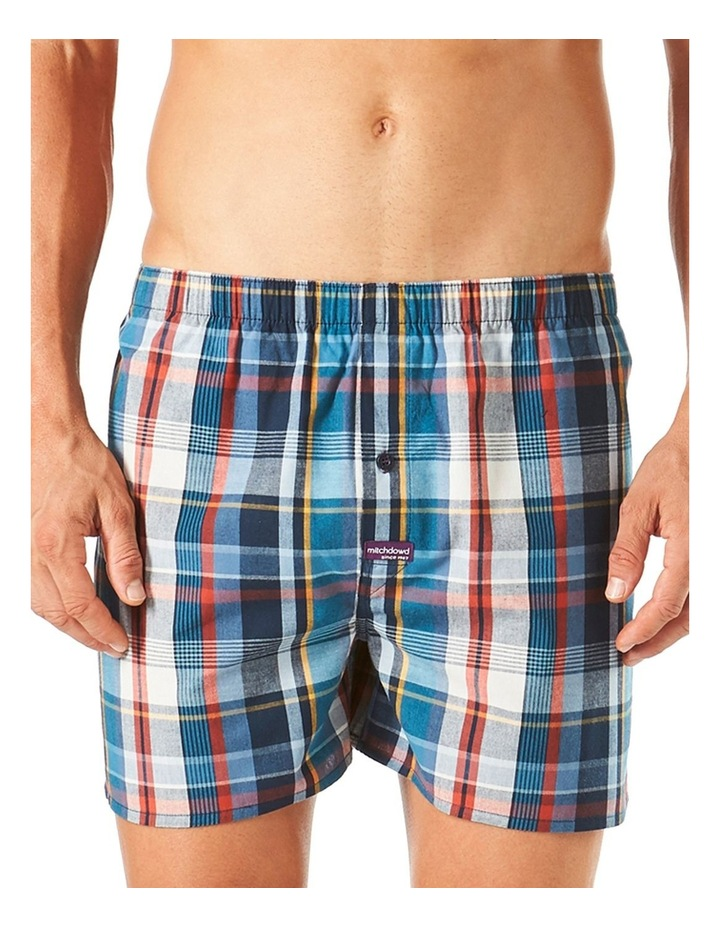 Classic Oliver Check Yarn Dyed Boxer Short image 1