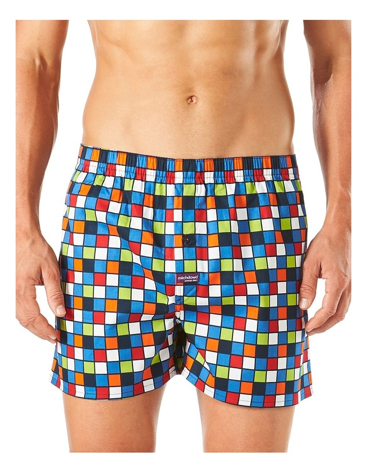 Checker Printed Boxer Short image 1