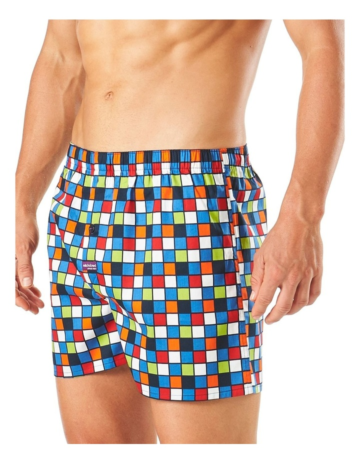 Checker Printed Boxer Short image 2