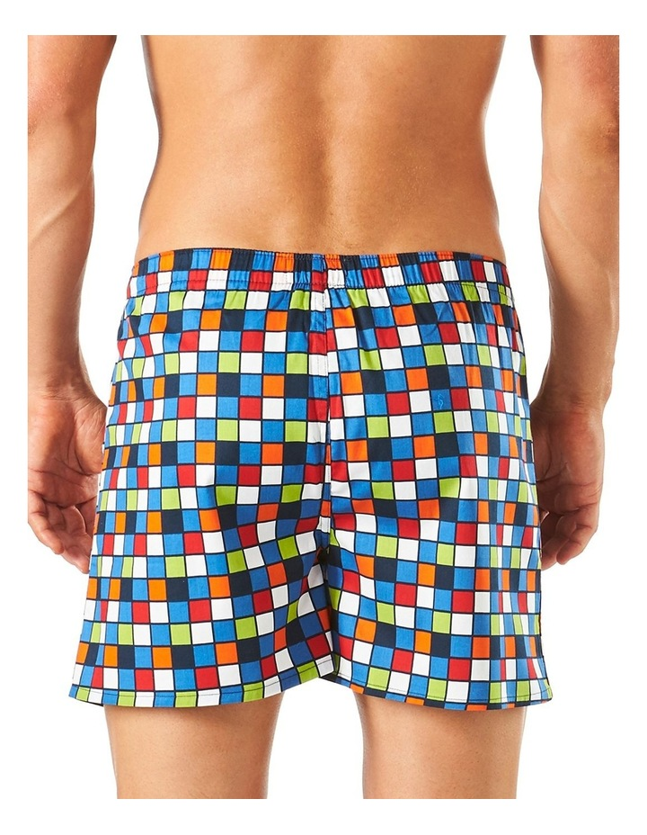 Checker Printed Boxer Short image 3