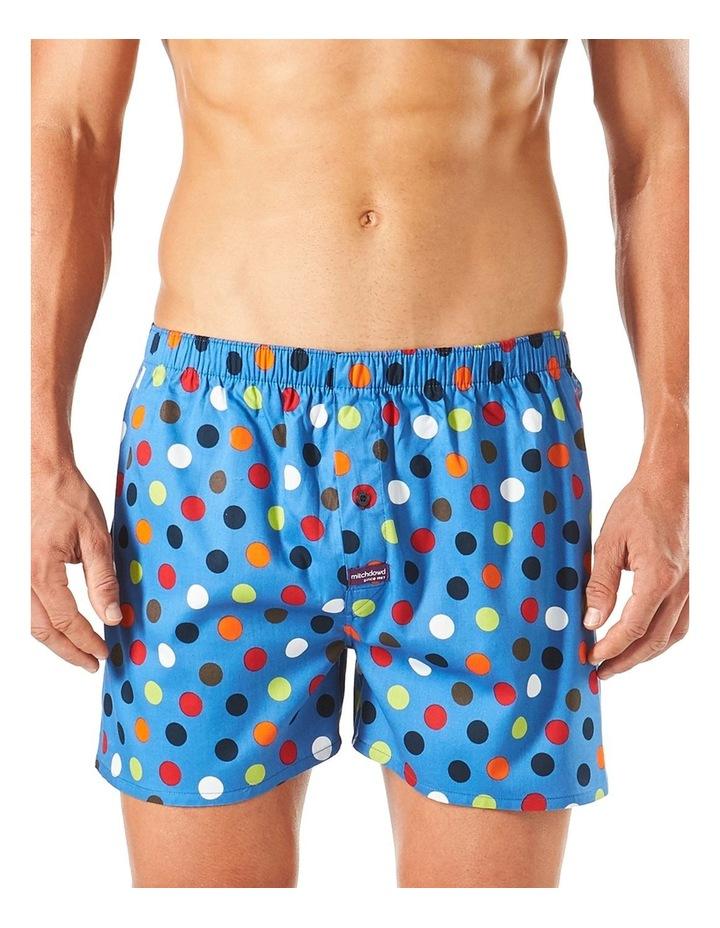 Dots Printed Woven Boxer Short image 1