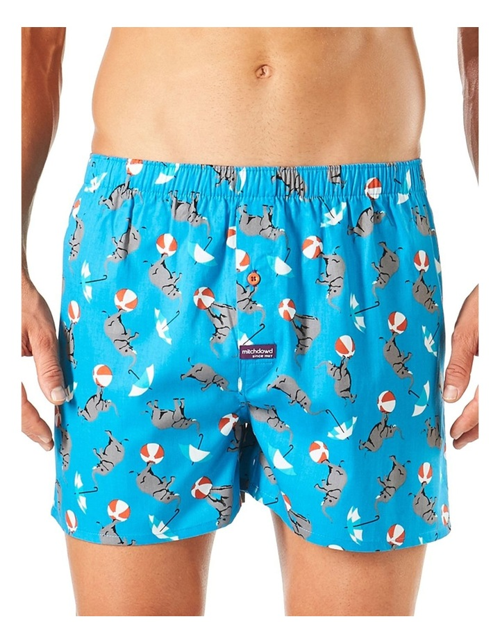 Circus Elephants Printed Boxer Short image 1