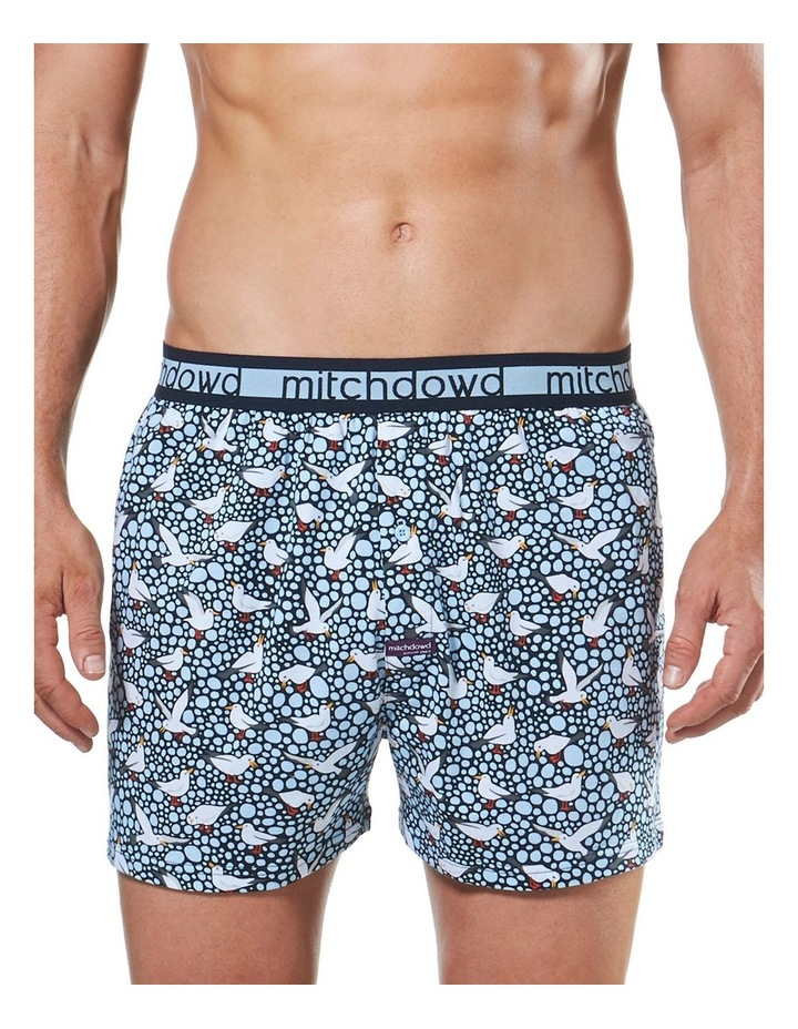 Spotty Gulls Loose Fit Knit Boxer Short image 1