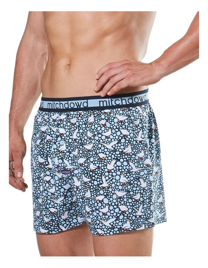 Spotty Gulls Loose Fit Knit Boxer Short image 2