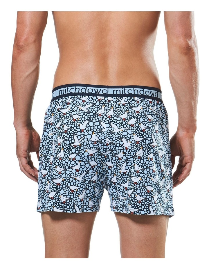 Spotty Gulls Loose Fit Knit Boxer Short image 3
