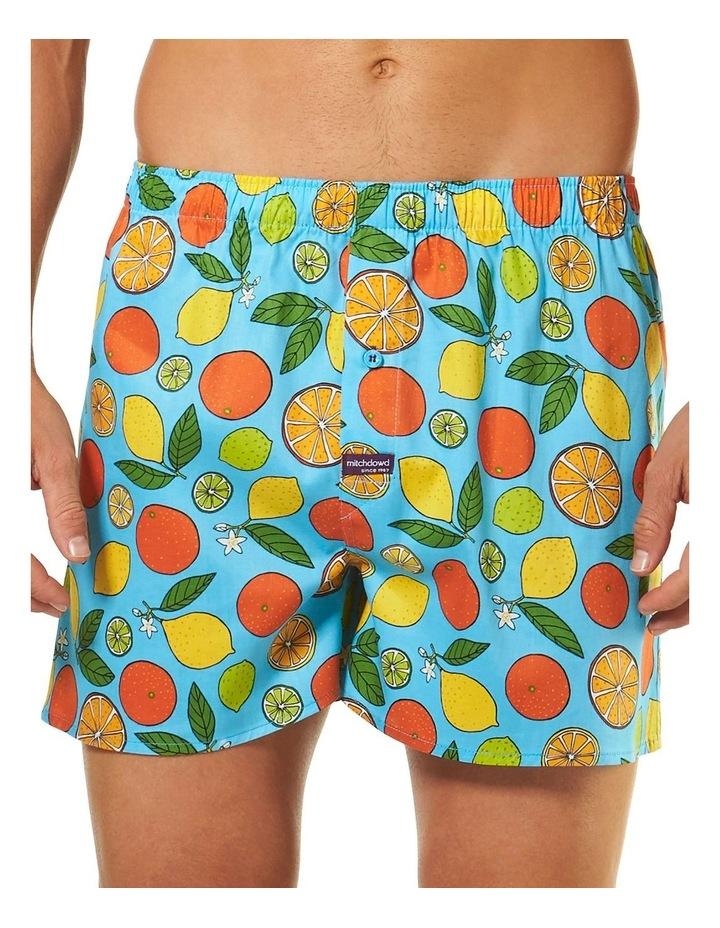 Oranges and Lemons Printed Boxer Short image 1