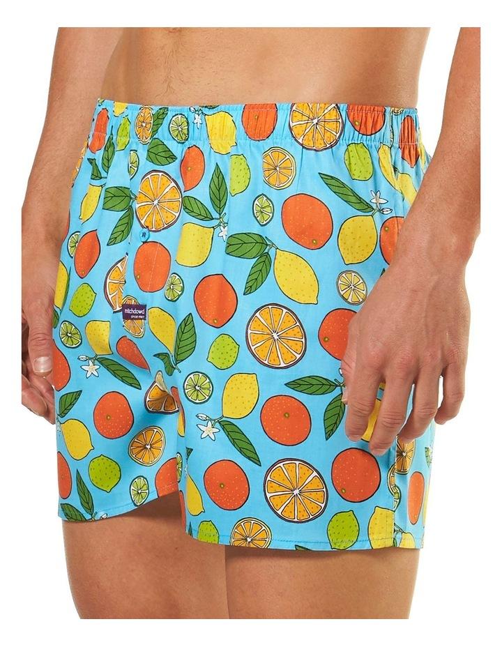 Oranges and Lemons Printed Boxer Short image 2