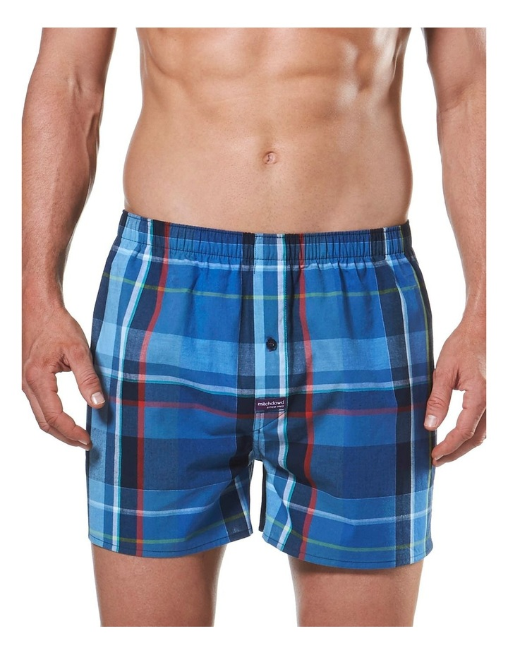 Classic Admiral Check Yarn Dyed Boxer Short image 1