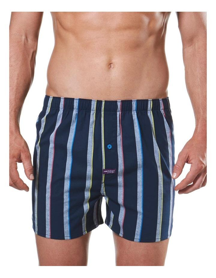Donaldson Stripe Yarn Dyed Stretch Boxer Short image 1