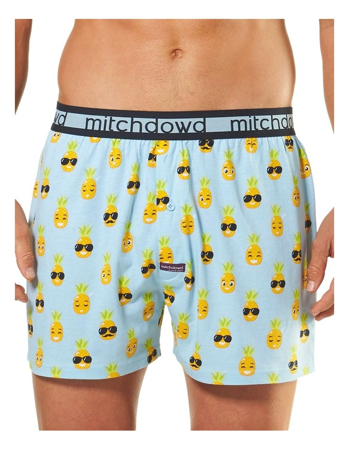 Holiday Pineapple Loose Fit Knit Boxer Short image 1