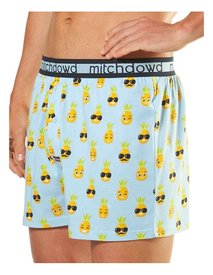 Holiday Pineapple Loose Fit Knit Boxer Short image 2